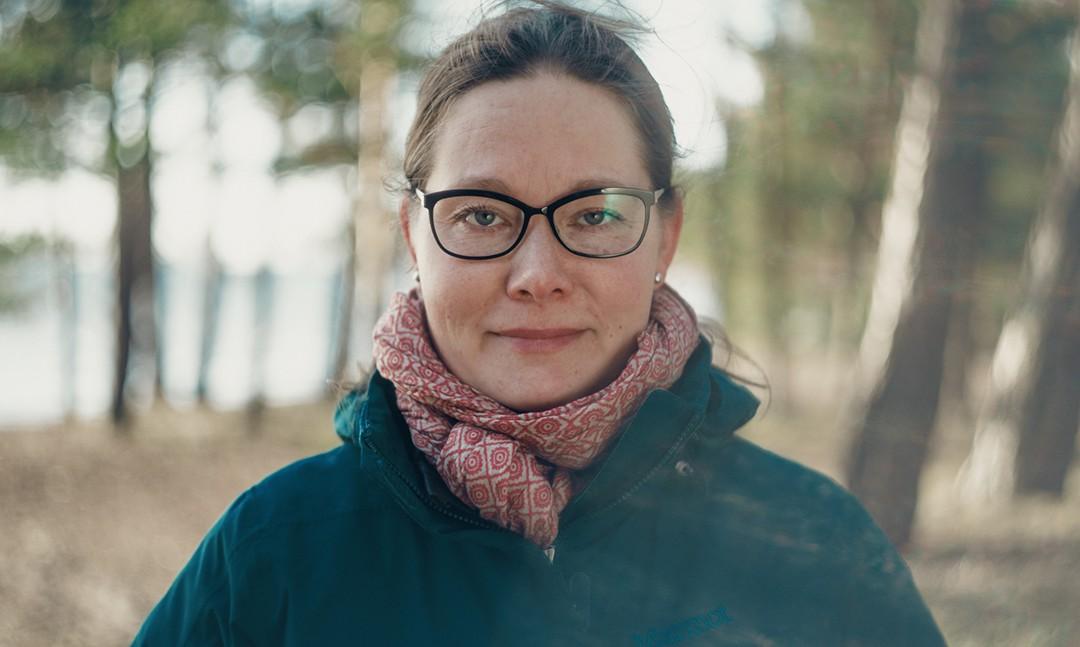 Yle Fem program Klik! om Sandra Kantanen.